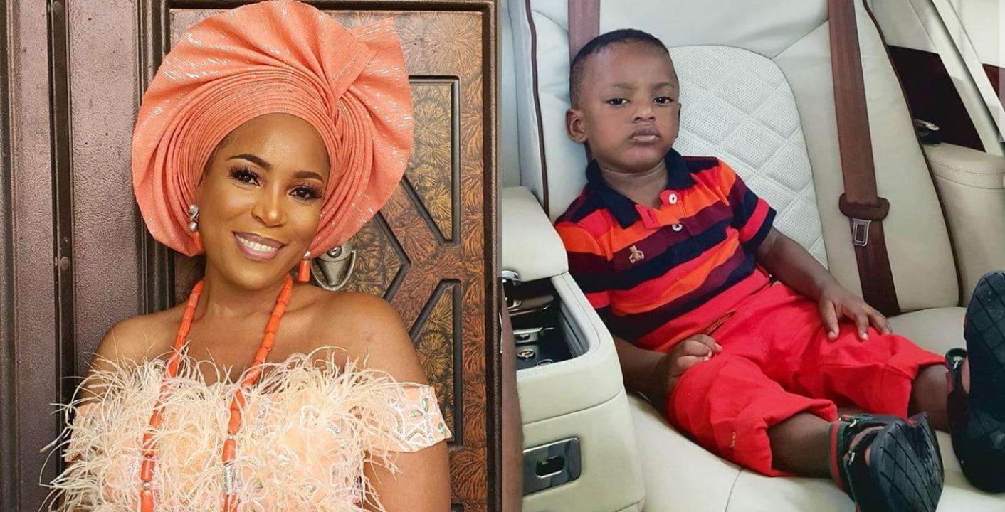 Linda Ikeji gushes over son, Jayce
