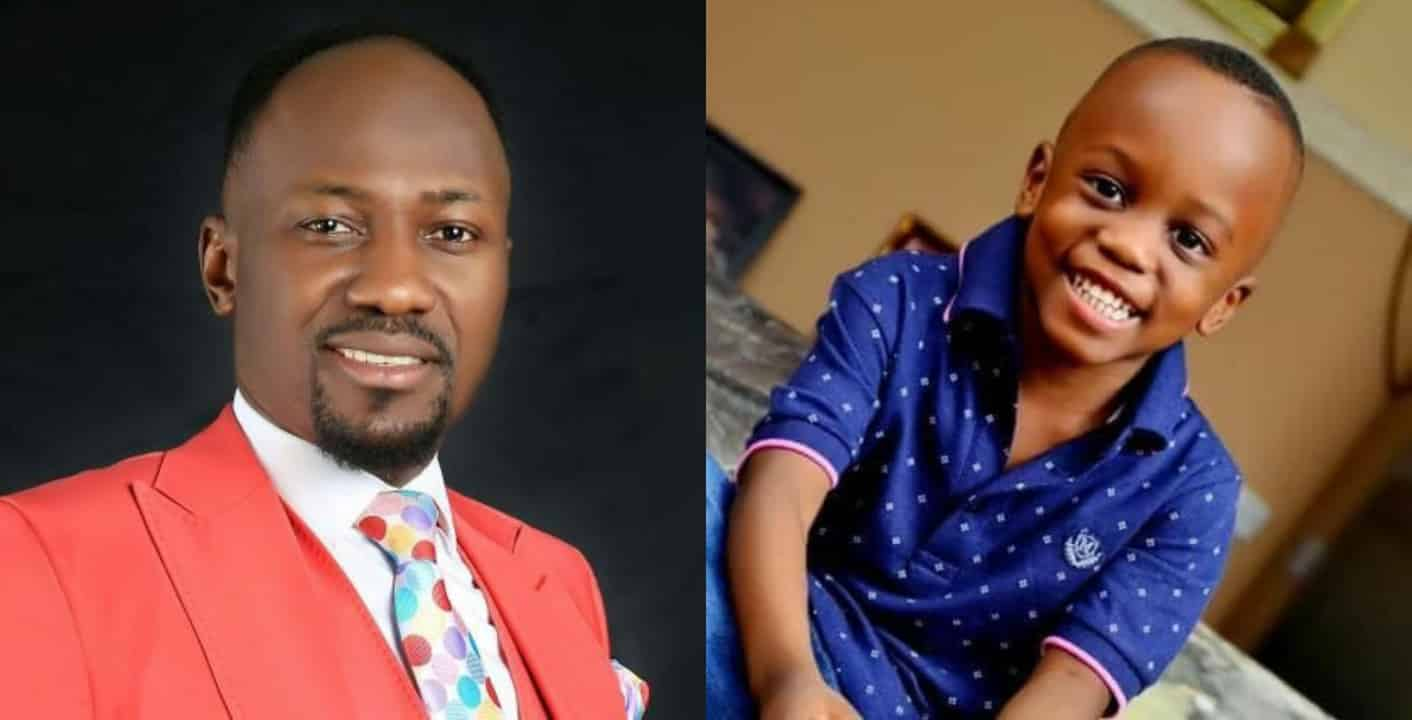 Apostle Johnson Suleman celebrates son on his 7th birthday