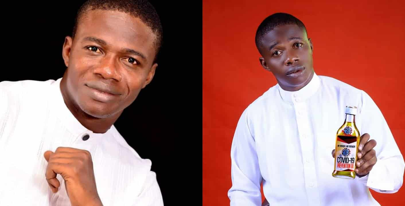 Nigerian pastor begins sale of Covid-19 prevention oil for $100 (N36k)