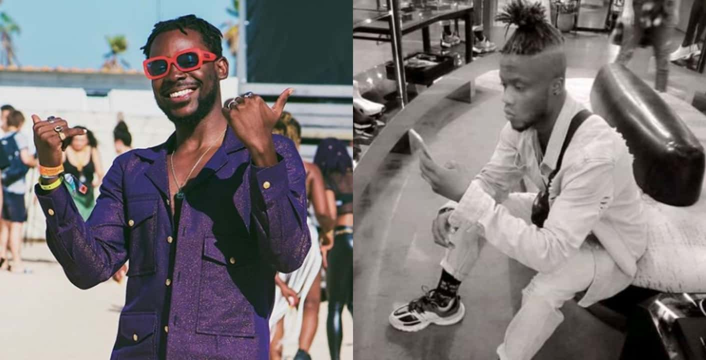 Adekunle Gold explains why he blocked a fan on Instagram