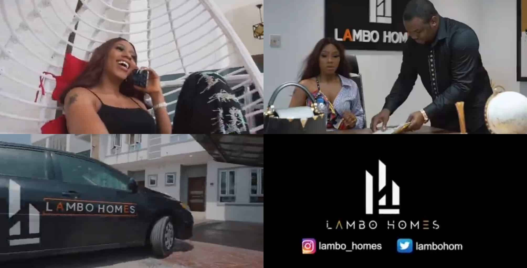 BBnaija's Mercy Eke launches own real estate company, Lambo Homes