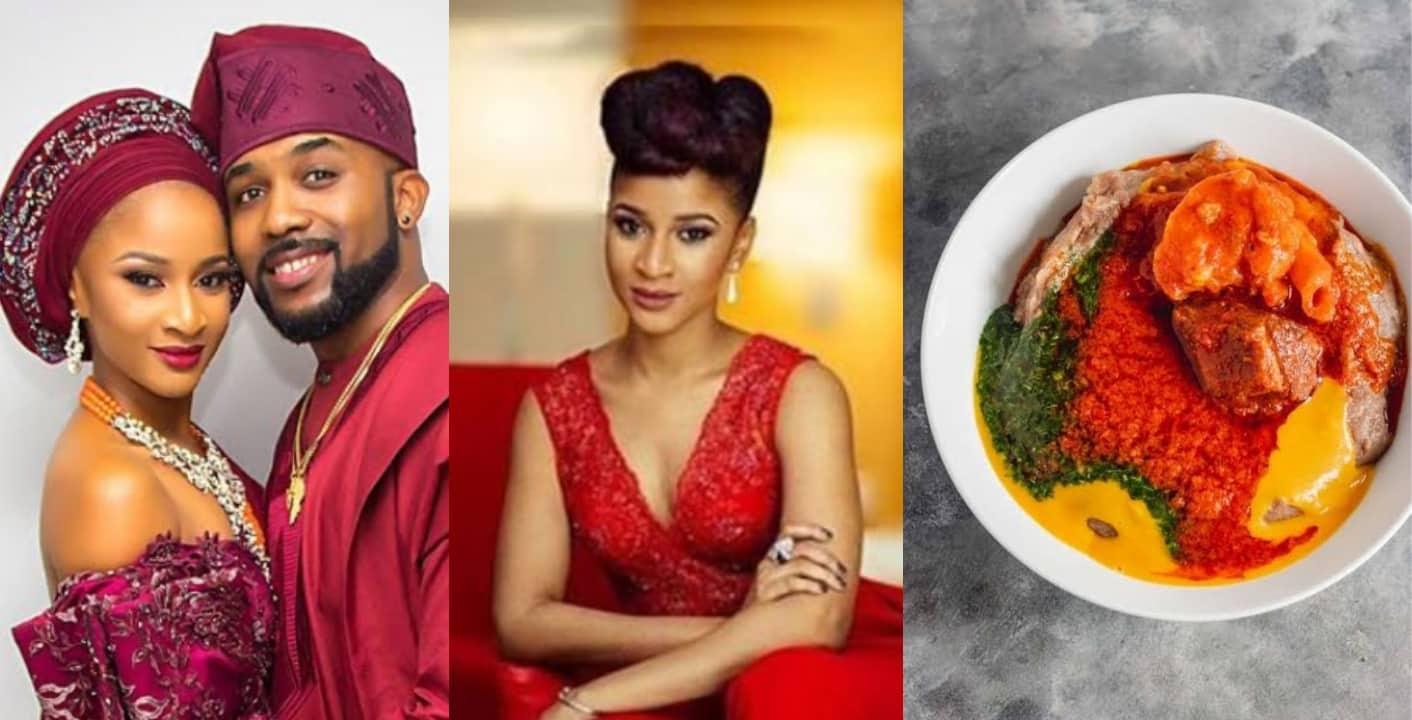 "Adesua Etomi says popular Yoruba soup ""Gbegeri"" is trash"