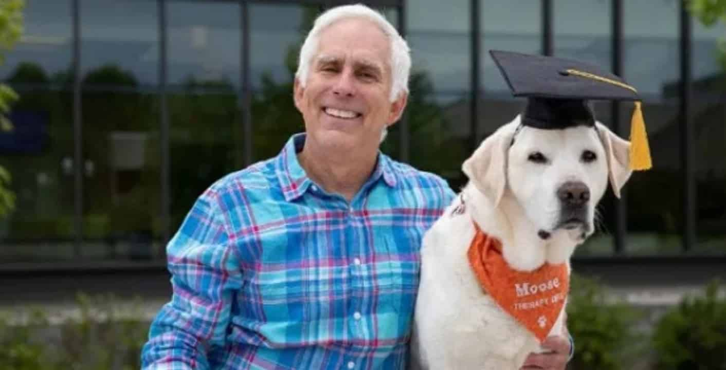 Dog Bags Honorary Doctorate Degree In Veterinary Medicine