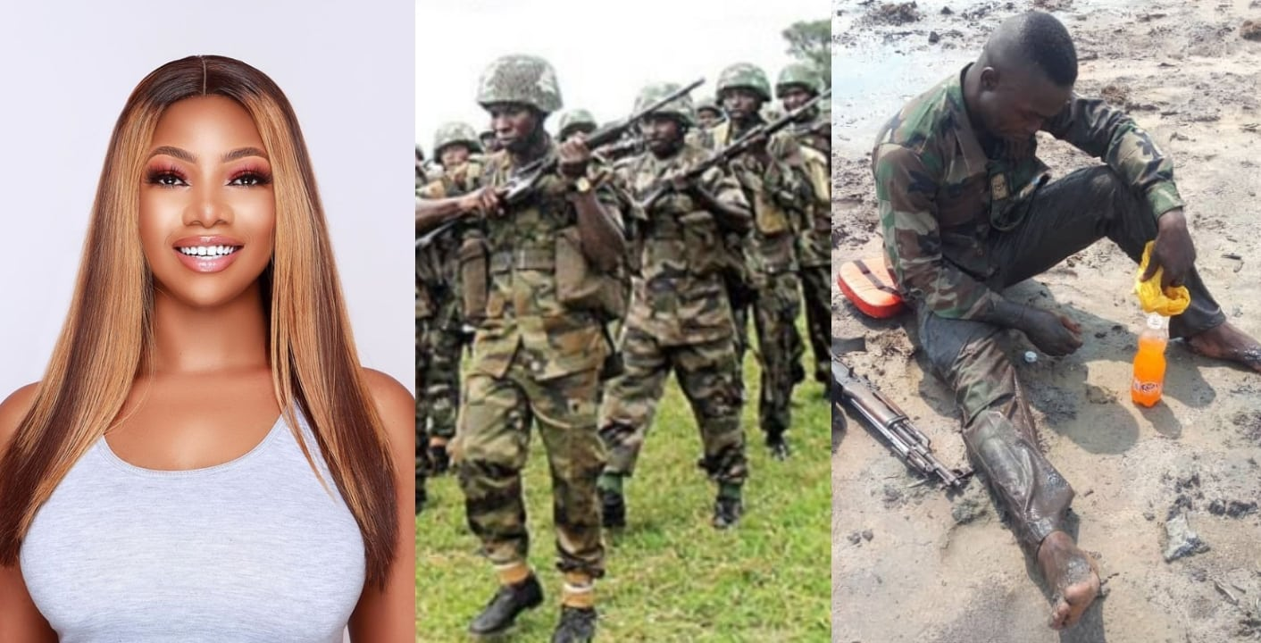 Tacha prays for Nigerian soldiers fighting Boko Haram