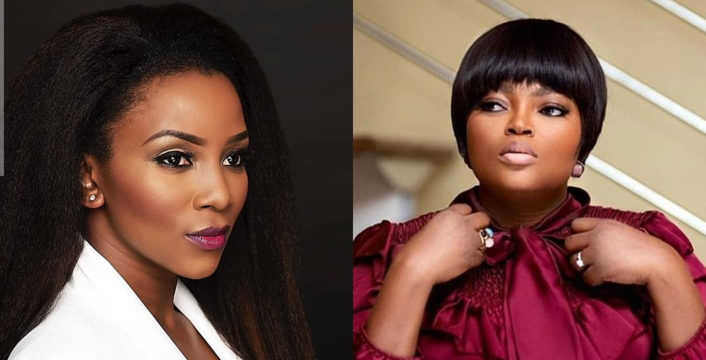 Funke Akindele shuns blogger who compared her with Genevieve Nnaji
