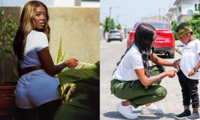 I once bought my son 56 dinosaur toys in a day - Tiwa Savage reveals