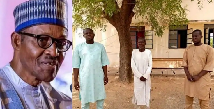 "Three men arrested for ""insulting"" President Buhari on social media"