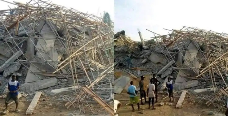 Eight storey building collapses in Imo