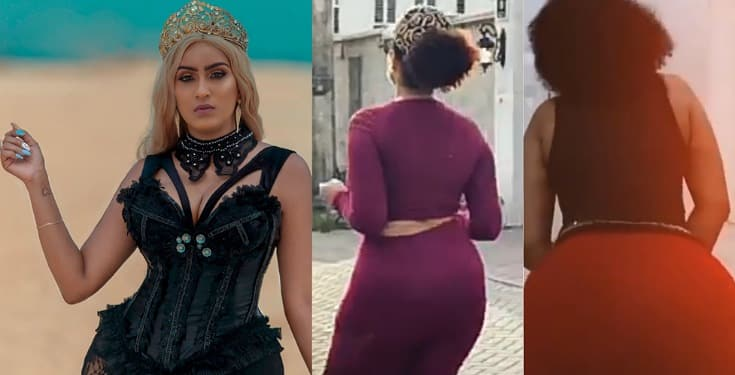 Curvy actress, Juliet Ibrahim twerks up a storm in new video
