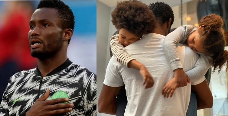 """""""At the end of the day, that's all that matters"""" - Mikel Obi shows off beautiful twin daughters"""