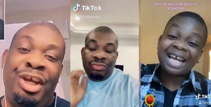 Don Jazzy reacts as man calls out men who use TikTok app