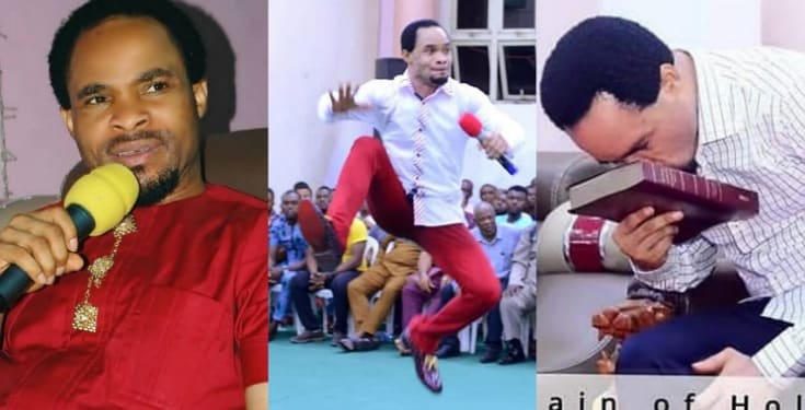 Prophet Odumeje finally reveals the source of his power after he was threatened by a native doctor (Video)