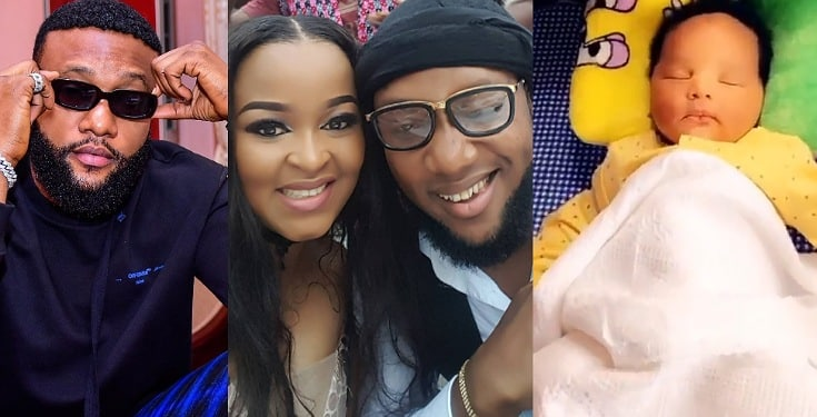 Singer Kcee's Wife, Ijeoma Shares Adorable Video Of Her Newborn Son