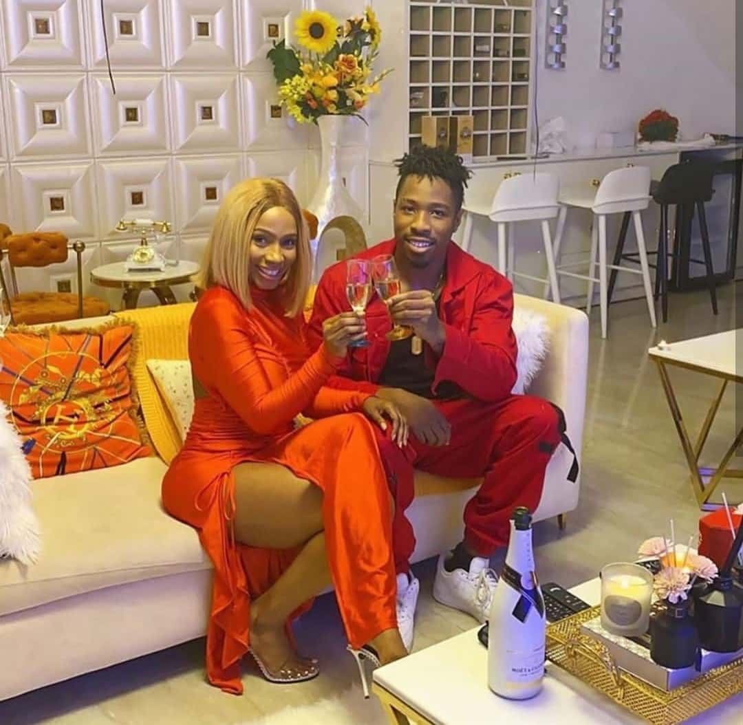 """""""Love is drama filled but we love it"""" - Mercy Eke shares romantic video with lover, Ike"""