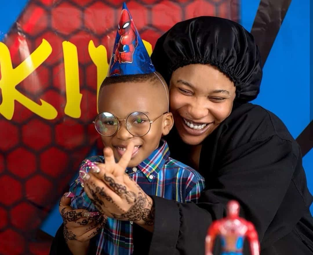 """Motherhood is indeed a sacrifice"" - Tonto Dikeh celebrates women on mother's day"