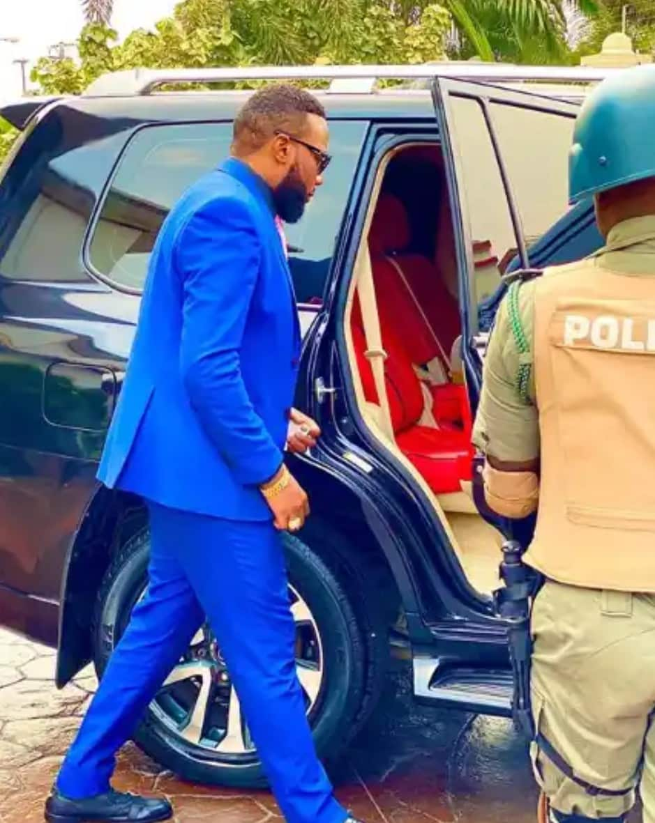 Billionaire Businessman, E-money Leaves Police Custody