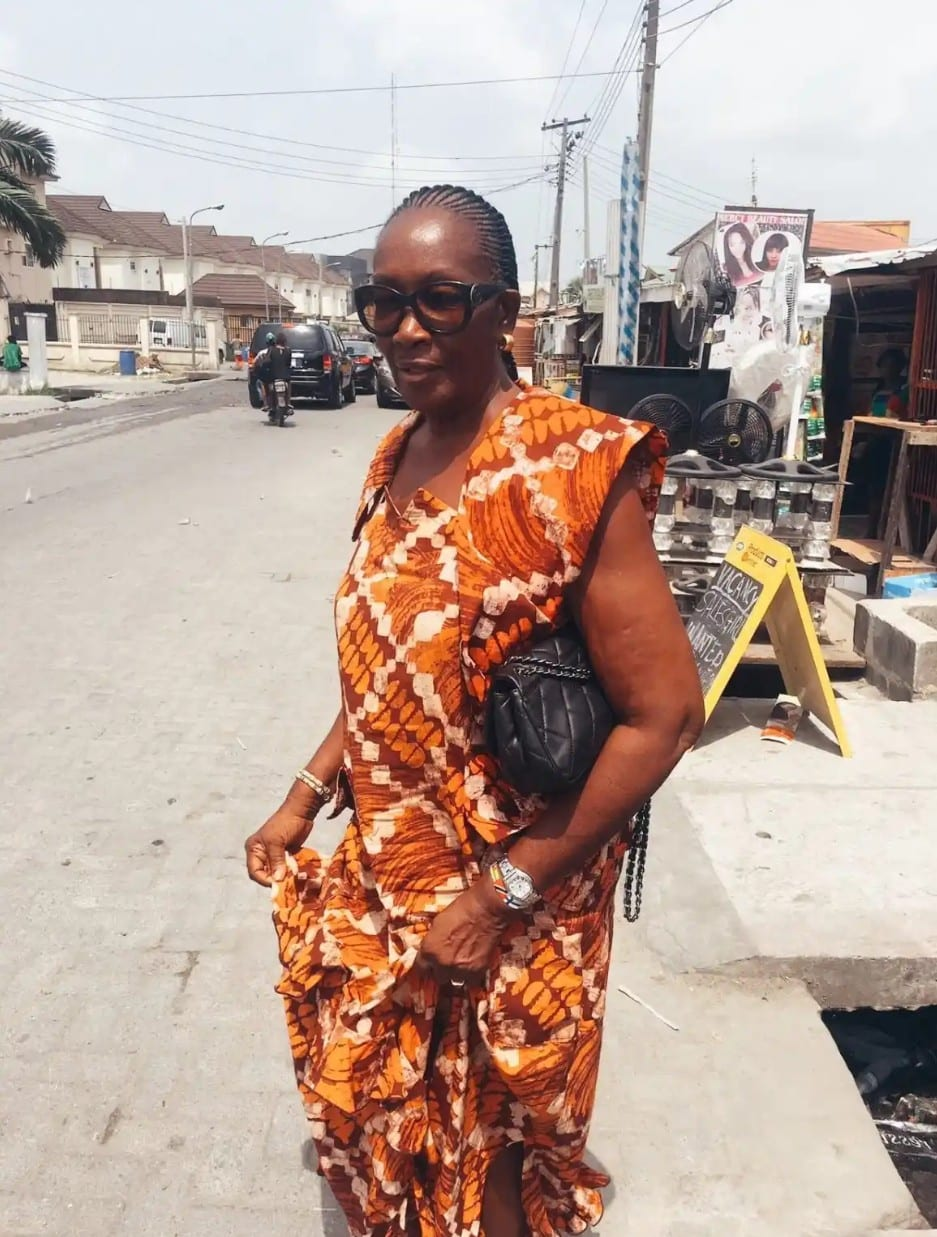 82-Year-Old Grandmother Stuns Nigerians with her beauty (Photos)