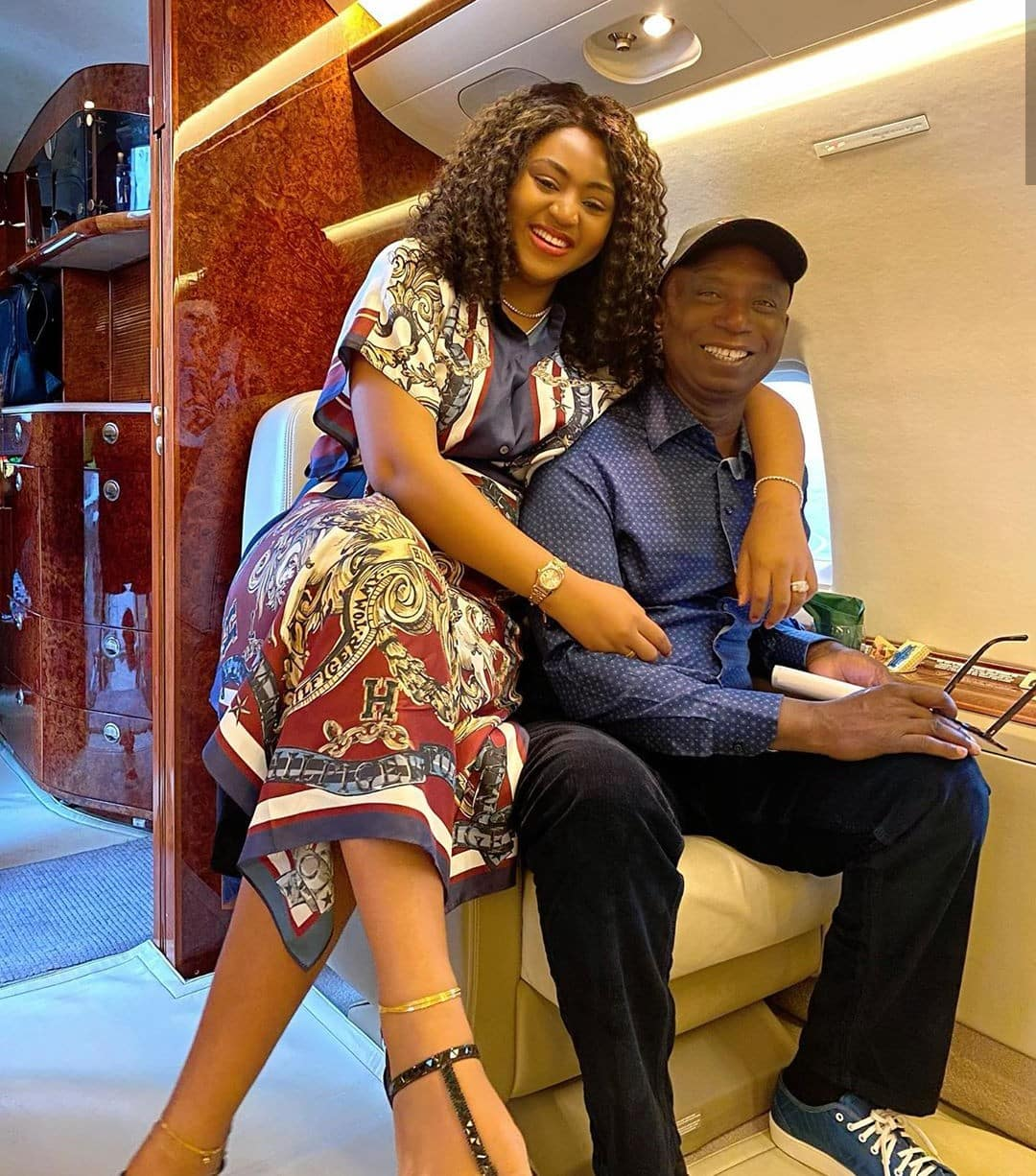 """""""If you abort that baby, I will pray for God to take your life"""" - Man writes Regina Daniels"""