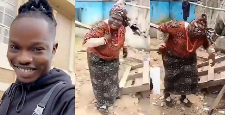 Elderly Woman Dances To Naira Marley's 'Tesumole'