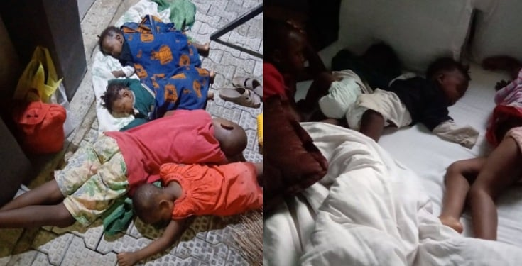 Mother abandons her four children to buy mango without retuning
