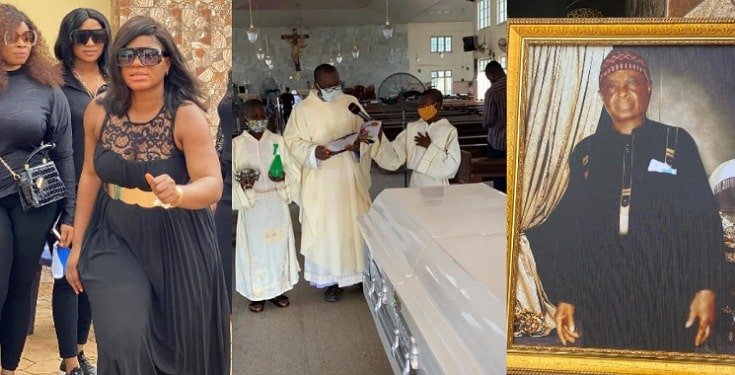 Photos/Video From Destiny Etiko's Father's Burial