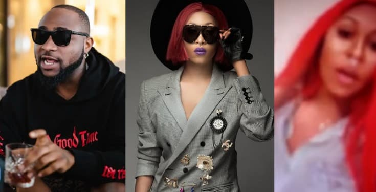 "Throwback video of Cynthia Morgan calling Davido a ""Fvck Boy"""