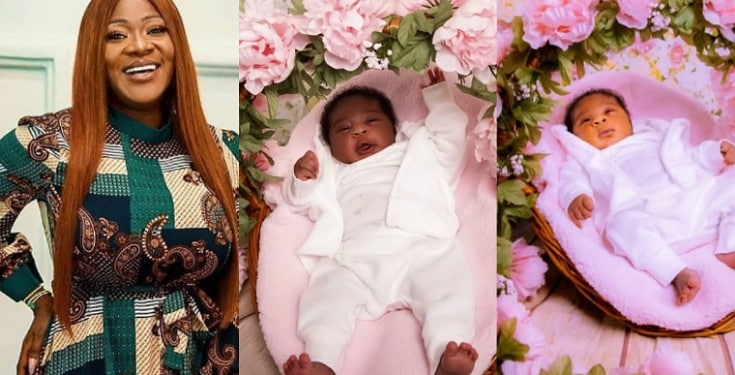 """""""Our special gift from God"""" - Mercy Johnson-Okojie shares beautiful photos of her baby, Divine-Mercy"""