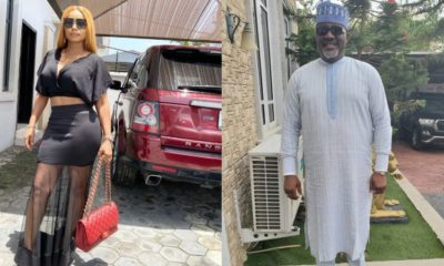Iyabo Ojo reacts to reports of her upcoming wedding to Dino Melaye