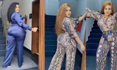 Nkechi Blessing curses a follower who accused her of doing fake giveaways