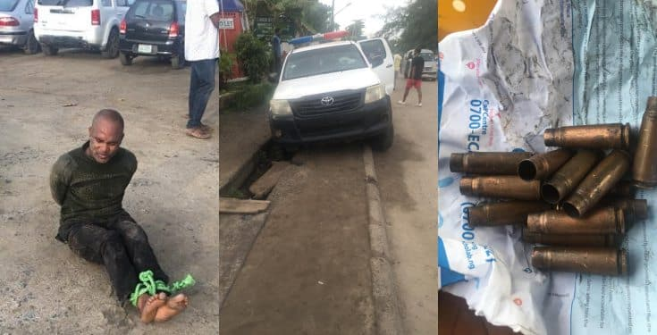Police officer allegedly shoots colleagues dead in Onikan, Lagos (photos)