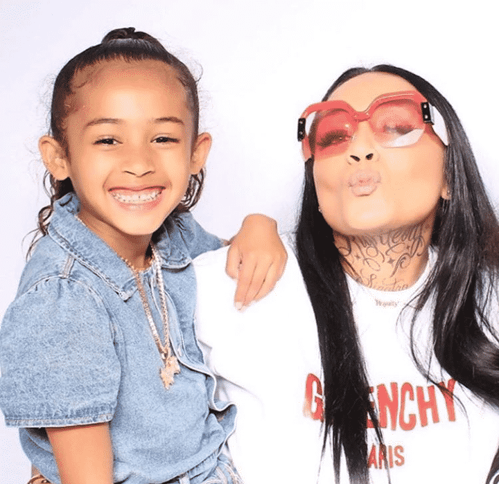 Chris Brown's baby mama and daughter