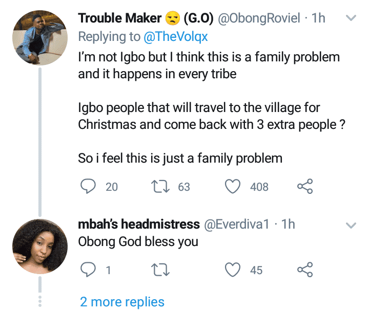 Man attacked for saying Igbos only love themselves on social media
