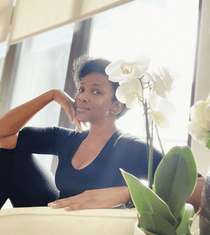 Genevieve Nnaji shares new photo looking forever young