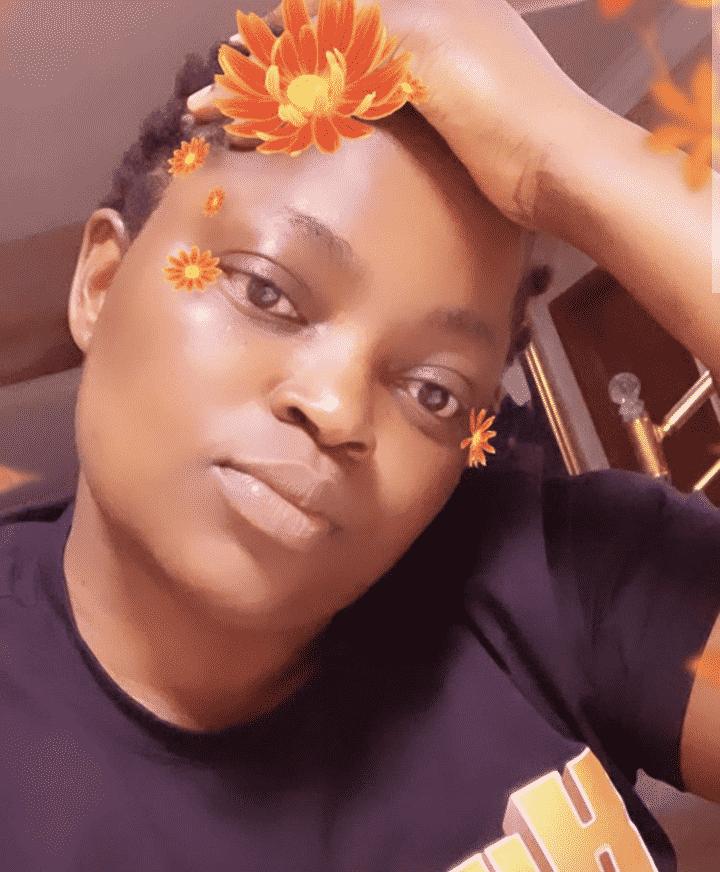 Funke Akindele puts her new hairstyle on display