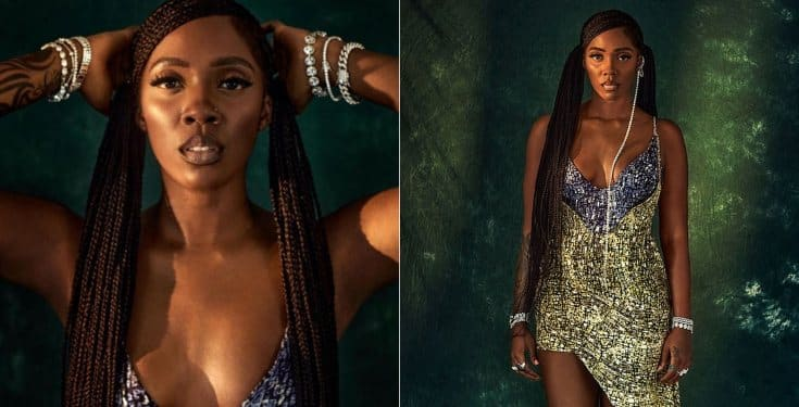 Tiwa Savage billboard