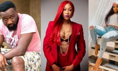 Toke Makinwa reacts after Cynthia Morgan accused Jude Okoye of her career misfortune