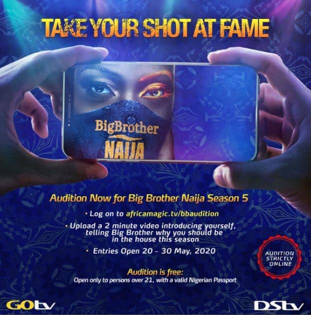 How To Audition For BBNaija 2020