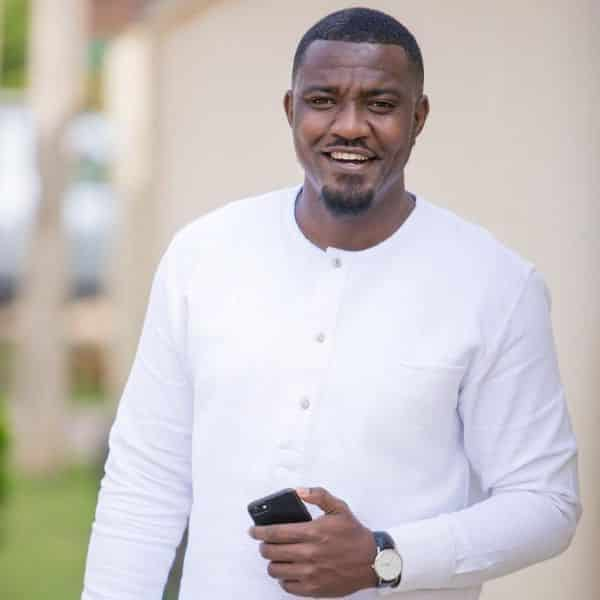 John Dumelo reveals his mother wanted him to become a Reverend Father