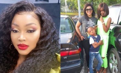 """Happy Father's Day to me and all single parents who play dual role"" – Mercy Aigbe"