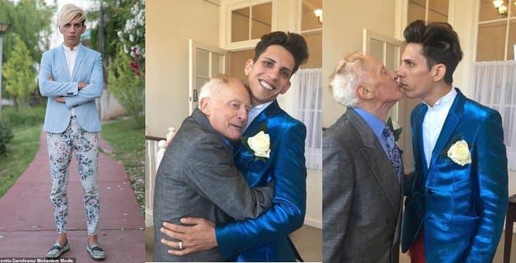 27-yr-old gay model gets £150,000 inheritance after death of his husband