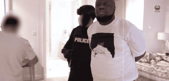 Hushpuppi arrest video