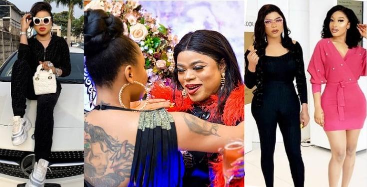 Bobrisky demands N3million from Tonto Dikeh's suitors