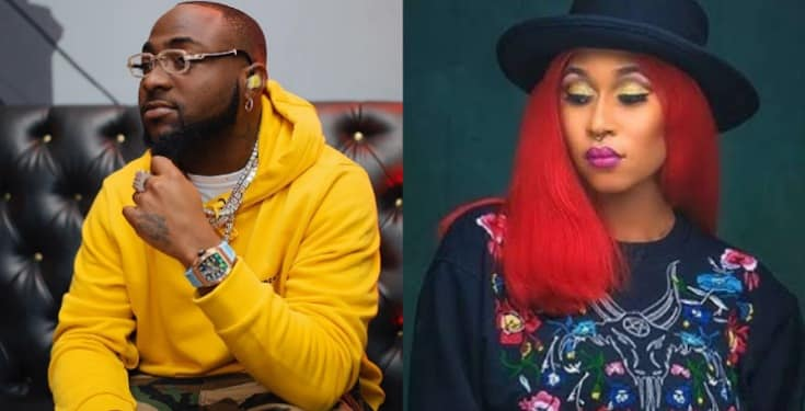 She called too much -  Nigerians troll Cynthia Morgan as Davido changes number after asking her to call him