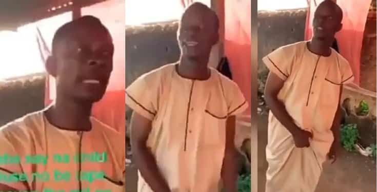 Nigerian man narrates how he sexually abused a 12-year-old girl (video)