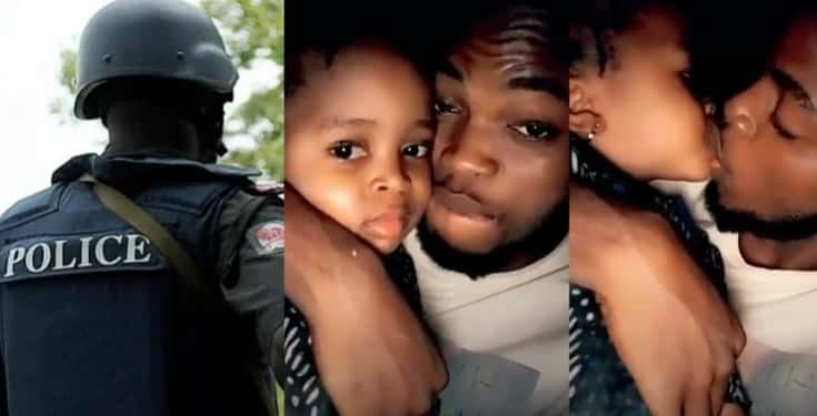 Police Launches Search For Man Who Kissed A Little Girl In Viral Video