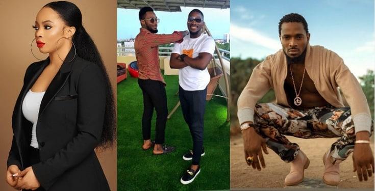 Toke Makinwa, Tobi Bakre Celebrate D'banj On His Birthday