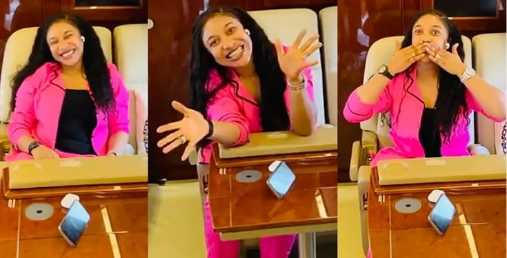 """I felt all the love and energy"" - Tonto Dikeh appreciates her fans for their birthday wishes (Video)"
