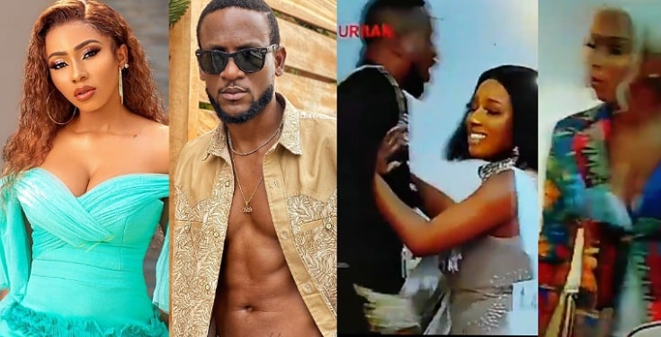 """Mercy Eke And Omashola Fight Dirty At BBNaija Reunion - """"You're a f**king liar, I wasn't naked"""" (Video)"""