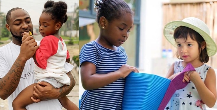 Davido's daughter, Imade melts hearts as she speaks against racism