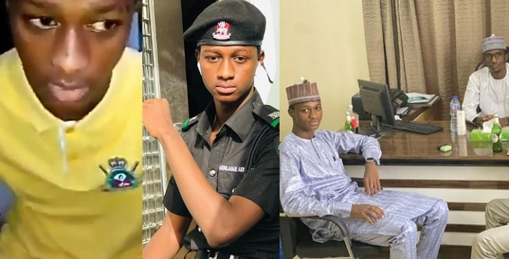 Kano Big Boy, Beelalgy Signs Multimillion Naira Deal After He Was Exposed As Fake Police Officer (Photos/Video)